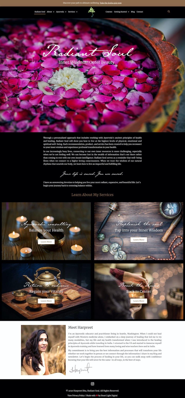 Harpreet Dha Website