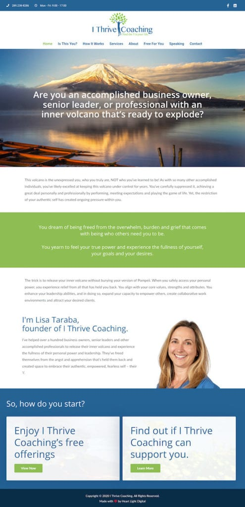 I Thrive Coaching
